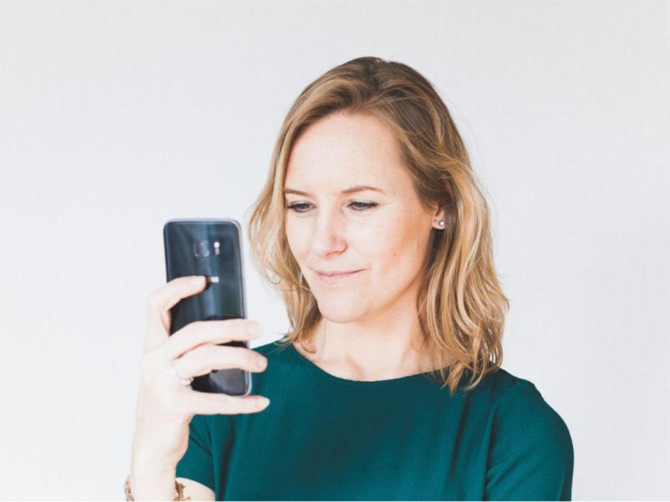 smartphone foto's