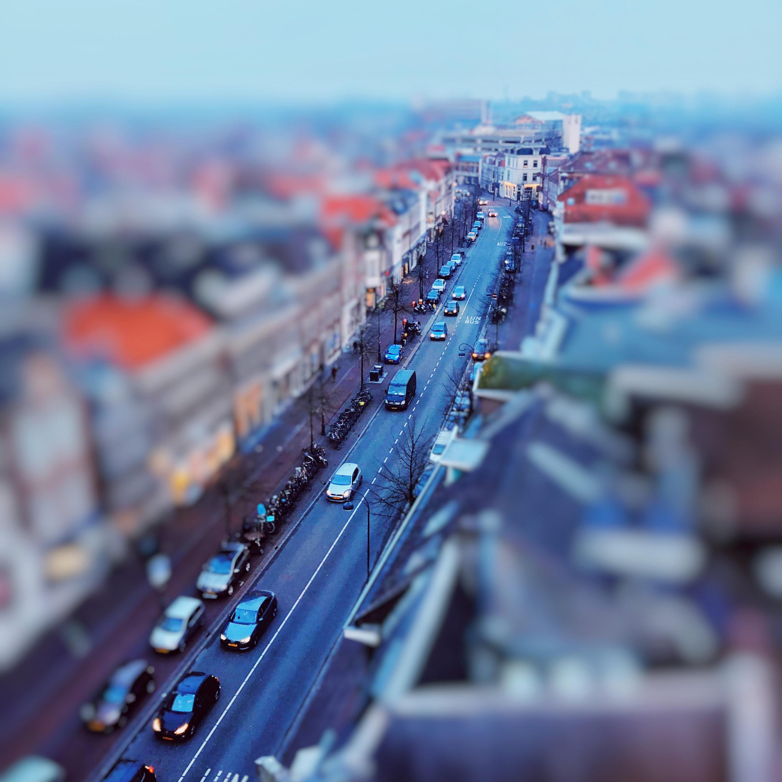 tilt shift foto's maken met je smartphone
