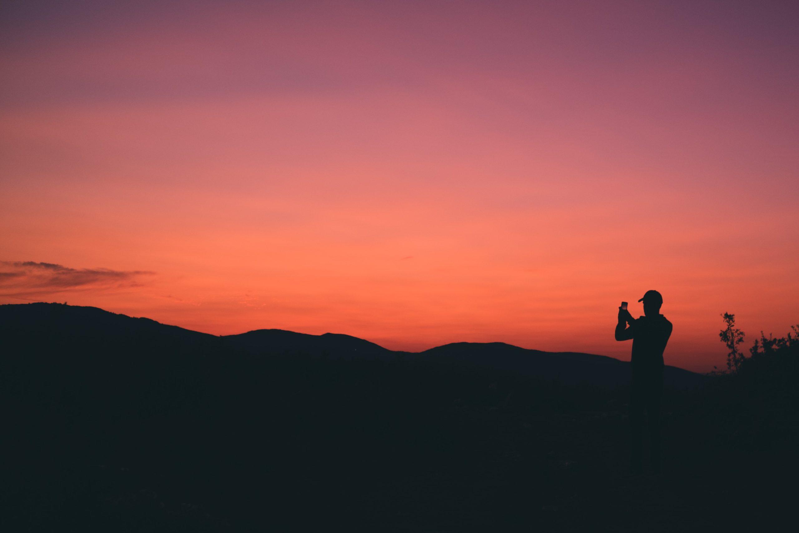 smartphone foto's maken in het donker