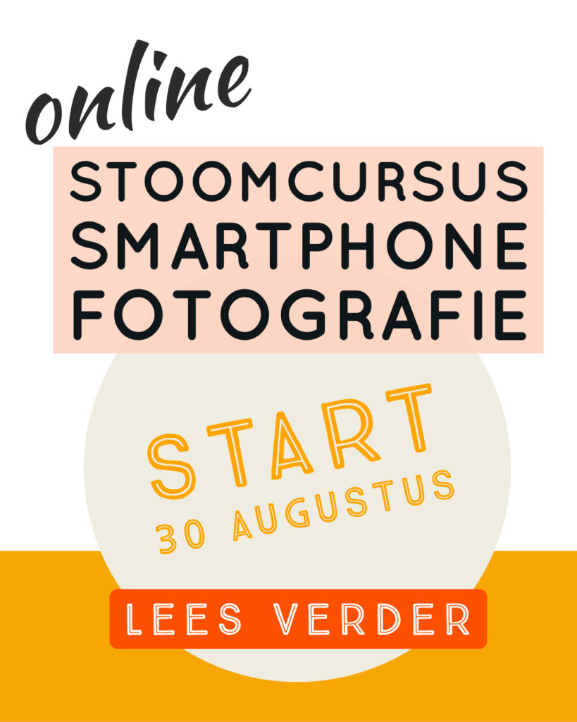 online smartphone cursus 30 augustus foonfoto.nl